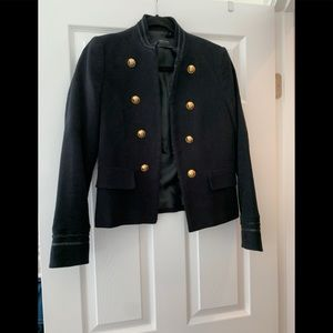 Zara military styles blazer